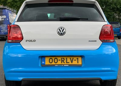 Smelter VW Polo autobelettering